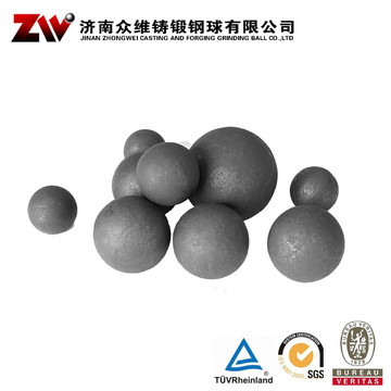 Hot rolling Forged grinding balls for mining 20mm