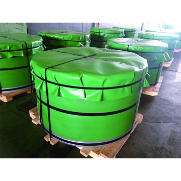 Tinplate coils are ready for shipment