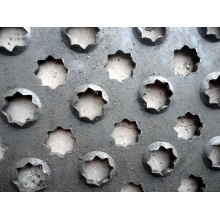 Hot dipped galvanized perforated safety grating