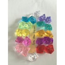 Wholesale Colorful Acrylic Lucky Stone for Decoration