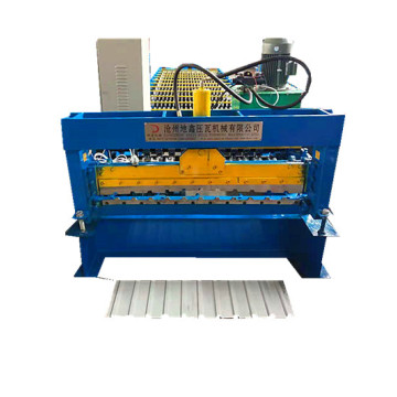 automatic steel roof panel making machine