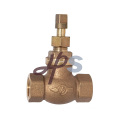 Bronze C83600 Stop Valve 3/4'', 1'', with Steel or Copper Handle