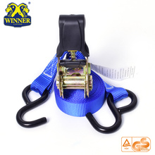 High Quality for Stainless Steel Ratchet Strap Plastic Cargo Lashing Ratchet Strap With Hook supply to Egypt Importers