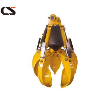 hydraulic material scrap orange peel grapple