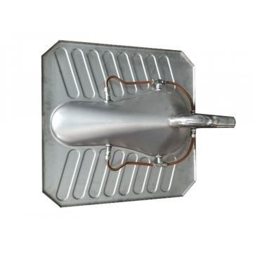 304 Stainless Steel Squat Toilet WC Pan