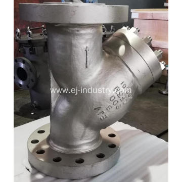 stainless steel high pressure strainer