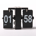 Black Mini Wall Flip Clock for Decor