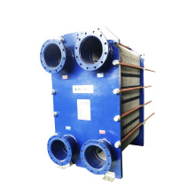 Aluminum oil to water counterflow heat exchanger efficiency