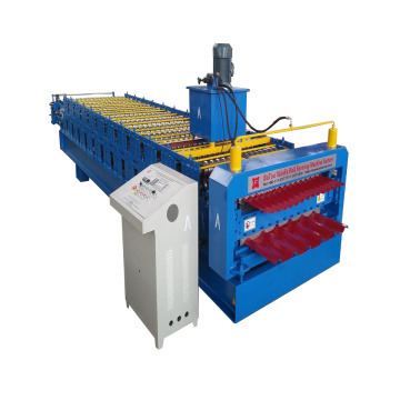 Metal Corrugated And Trapezoidal Sheet Roll Forming Machine