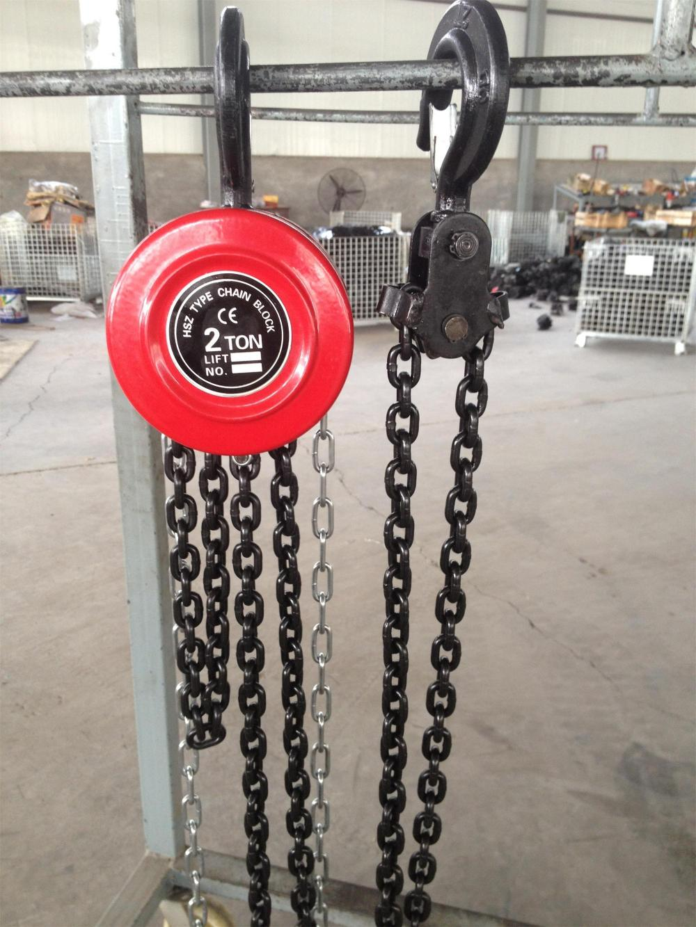 Hand Operated Chain Block Lifting Tools
