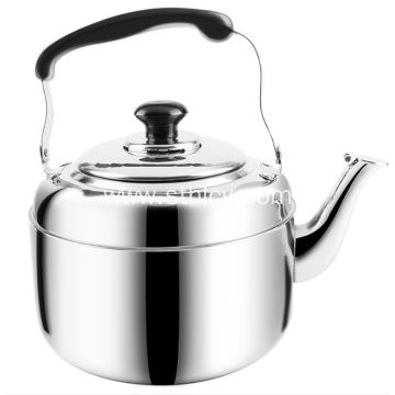 Stainless Steel Whistling Water Kettle With Large Handle