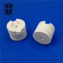 Customized for Machinable Glass Ceramic Shaft insulating special fine machinable ceramic knob roller supply to South Korea Exporter