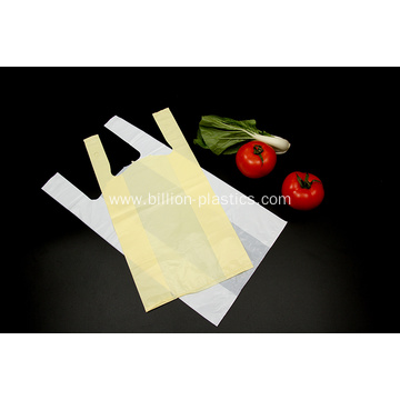 Bio-degradable Plastic T Shirt Shopping Bag