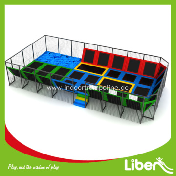 Trampolines with enclosure for sale