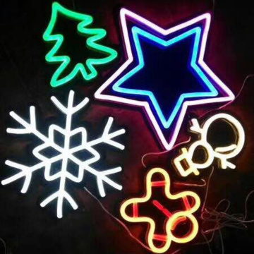 CHRISTMAS NEON LIGHT SIGNS