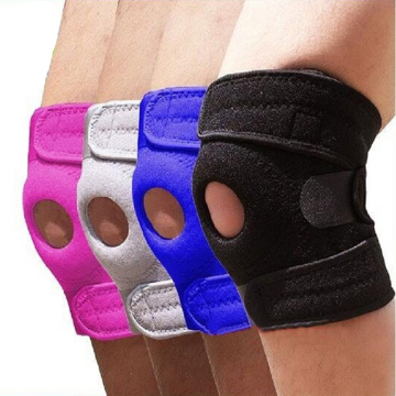 Breathable adjustable volleyball knee pads support brace