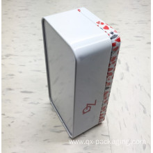 Good Quality for Tea Tin Box Rectangular tin containers wholesale supply to France Exporter