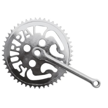 Steel Chainwheels and Crank