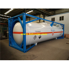 24cbm 20feet HCl Tanker Containers
