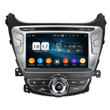 Elantra 2014 avtomobil multimedia android 9.0