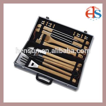 BBQ Accessories Tool Set with Aluminum Case