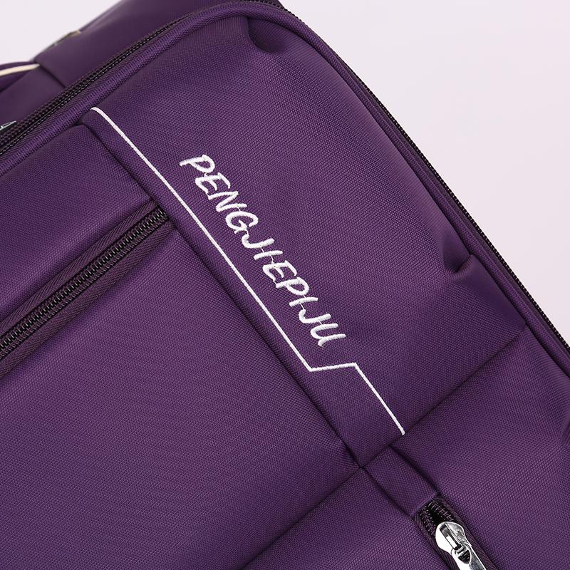 Leisure style soft rolling waterproof fabric luggage5