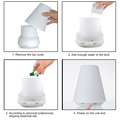 Mini Air Conditioner Scent Humidifier Aroma Diffuser