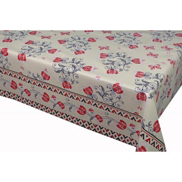 Pvc Printed fitted table covers Runner Roundup