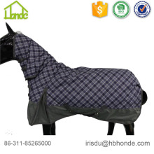 Short Lead Time for for Poly Cotton Combo Horse Rug 600d Polyester Windproof Horse Rug supply to Israel Exporter