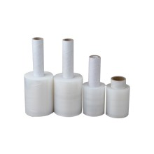 Hot New Products for Transparent Hand Stretch Film mini banding stretch hand wraps film rolls supply to American Samoa Importers