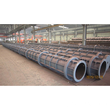 Pretensioning Prestressed Concrete Pile Moulds