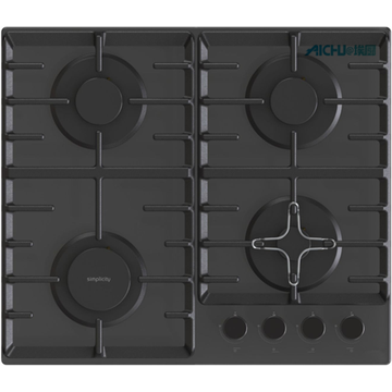 Neff Black Gas Hob Stove Showroom