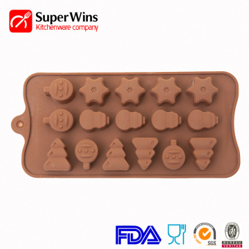 Nonstick Silicone Chocolate Mold Candy Ice Mold