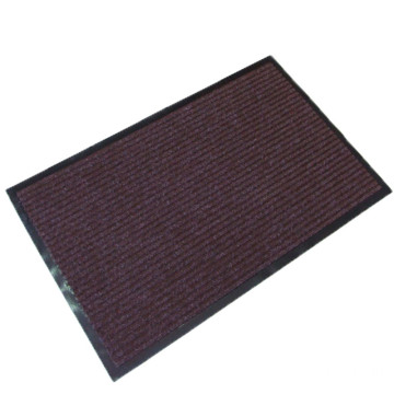High quality brown office door mat pvc backed