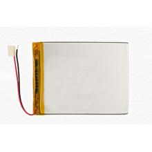 Flat rechargeable pure 3.7v lipo battery 357095 3000mah