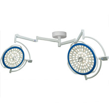 Hot Sale Double Dome Ceiling Surgery lamps With Camera System and Wall Controller
