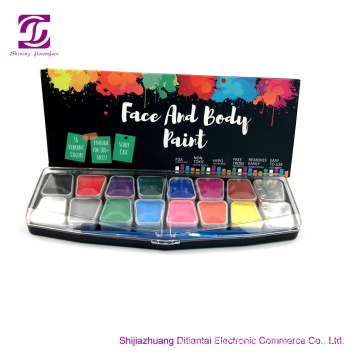 OEM manufacturer custom for Non Toxic Paint Set Face Paints Kits Kids Hypoallergenic Make Up Palette supply to Estonia Manufacturer