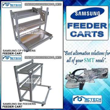 China Manufacturers for SMT Feeder Cart, SMT Component Feeder Cart , SMT Feeder Cart Manufacturers and Suppliers in China Samsung SMT Feeder Carts export to Kenya Factory