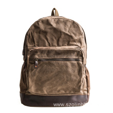 Special for Canvas Bulletproof Backpack Durable Canvas Laptop Bulletproof Backpack for Men export to Paraguay Factory