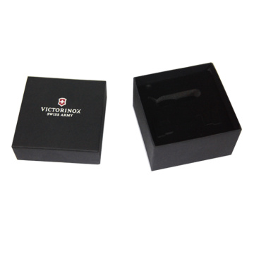 Square Black Elegant Gift Box for Mens Belt