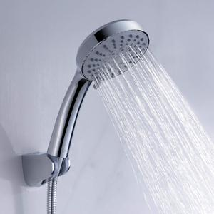 rubber-nozzle push shower heads