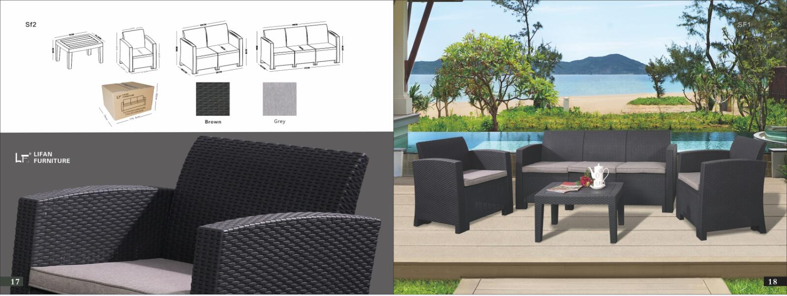 Garden Furniture Sofa Outdoor