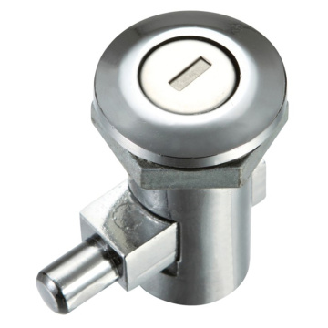 ZDC Chrome-coated 180-degree Turn Cabinet Lock