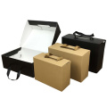 Drawer Corrugated Cardboard Sneaker Shoe Boxes With Logo