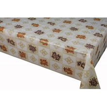 Elegant Tablecloth with Non woven backing Valentine