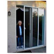 garage mosquito net lowes sliding screen door