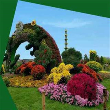 OEM areative artificial plant sculpture