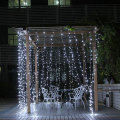 Weiße LED Vorhang Fairy String Christmas Lights