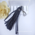 Wholesale Keyring Handmade Leather Tassel Keychain For Bag