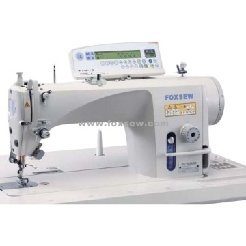 Computer Controlled Direct Drive Single Needle Lockstitch Sewing Machine